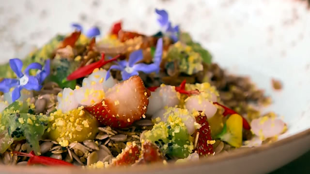 Edible Flowers and Gourmet Garnishes