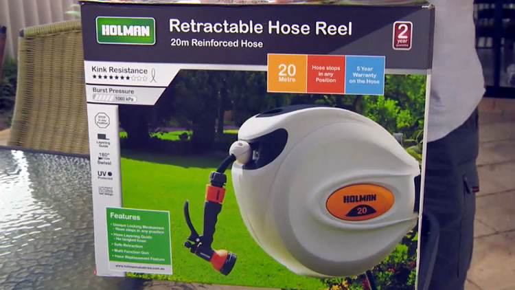 Holman Retractable hose
